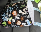Reusable Hanging Car Trash Bag IKEA birds floral plus plastic bag holder *Custom for Jeri-Faye*