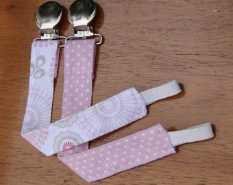 Pacifier Clip - Universal Clip for Girl's Pacifier/Binkie/Soothie