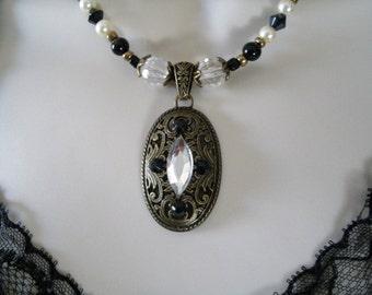 Victorian Necklace, victorian jewelry edwardian jewelry art deco jewelry art nouveau jewelry medieval renaissance gothic neo victorian goth