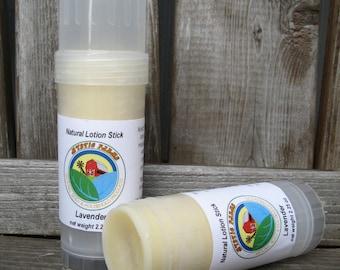 Lavender Natural Solid Lotion Stick