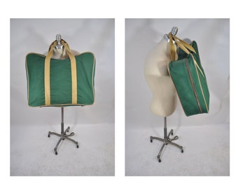 vintage duffle bag vintage duffel bag WINGS suitcase canvas tote canvas carry on duffle bag duffel bag