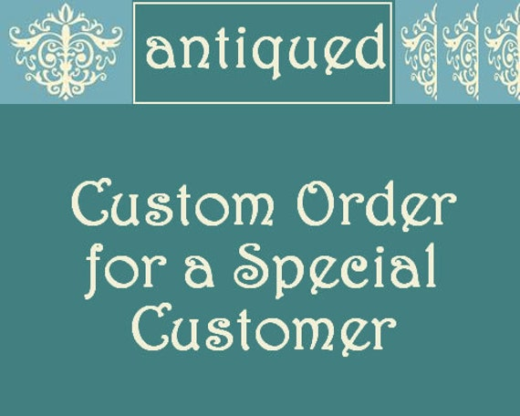 Custom Order for paigeashhh