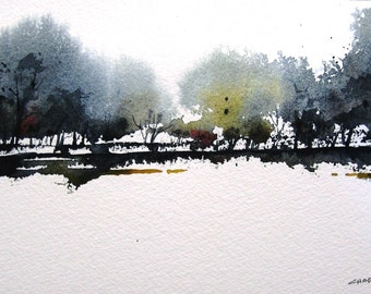 Mesilla - Original Watercolor Painting