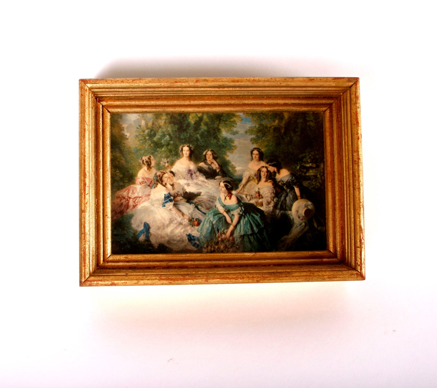 Wall Art Shadow Box : S shadow box framed art victorian by yesterdayand day