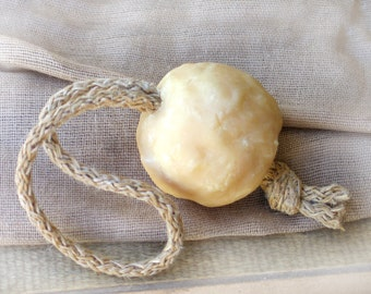 Rope Soap - Milk and Honey Cold Process Soap - based on Greek Olive Oil