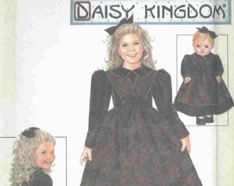 Daisy Kingdom by Simplicity 9987 Sizes 5-6-7-8