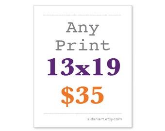 13x19  Any Print