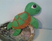 Felt Sea Turtle Ornament Nursery Decor