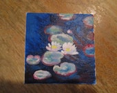 Mini Masterpiece, Water Lillies, Monet