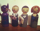 Custom Mini Wooden Dolls