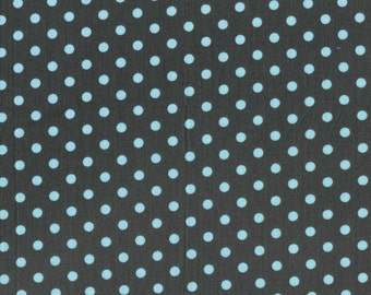 Baby Dumb Dot Gray for Michael Miller, 1/2 yard cotton fabric