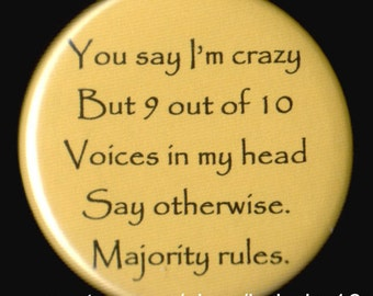 Majority Rules Button