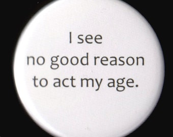 No Good Reason Button