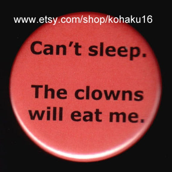Oh God The Clowns Button