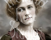 Jeanne-Victorian Woman-Theater Costume-Digital Image Download