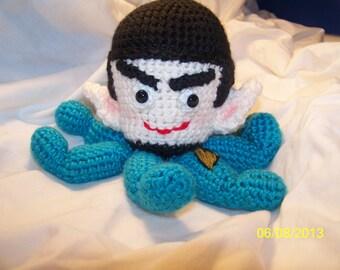 Crochet Spock A Pus crochet octopus of Spock Star Trek