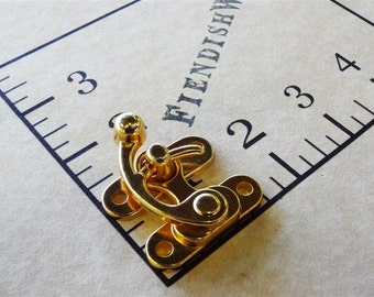 Steampunk Swing Clasp Gold / Brass 1 1/2""