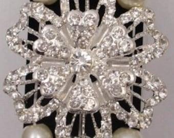 Corsage Bracelet - Vintage Beauty - Champagne