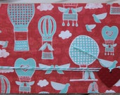 Valentine Card, Valentine Hot Air Balloons, Valentine Lovebirds Card