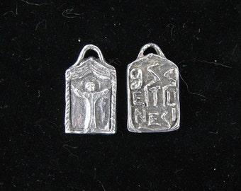 St Genesius: Patron of Actors & Actresses, Handmade Medal