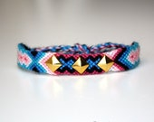 Studded friendship bracelet