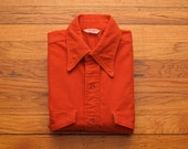 mens vintage frost proof chamois cloth shirt
