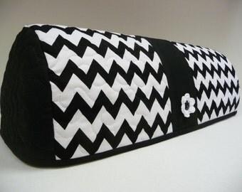 BLACK and WHITE CHEVRON - Cricut Dust Cover - Cricut Cozy - Expression Dust Cover - Expression Cozy - Dust Cover - Cozy - Cover