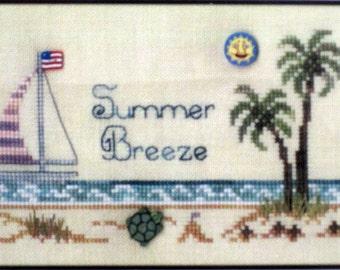 Summer Breeze - Brittercup Designs - Easy Cross Stitch