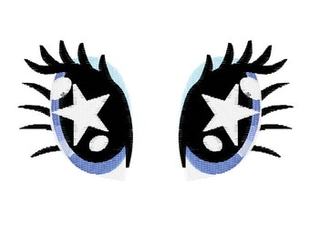 PES FILES: Rarity Starry Eyed - Embroidery Machine Design File