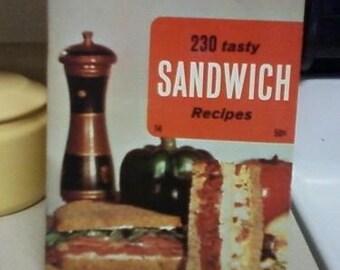 230 Tasty Sandwich Recipes 1969