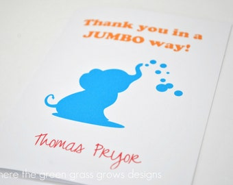 Dumbo Thank you Cards