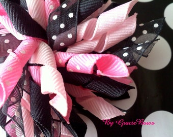 Korker Bow- Tough Enough To Wear Pink