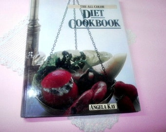 Vintage Book, Reference Book, The All Color Diet CookBook, Large Size Hardcover Cookbook
