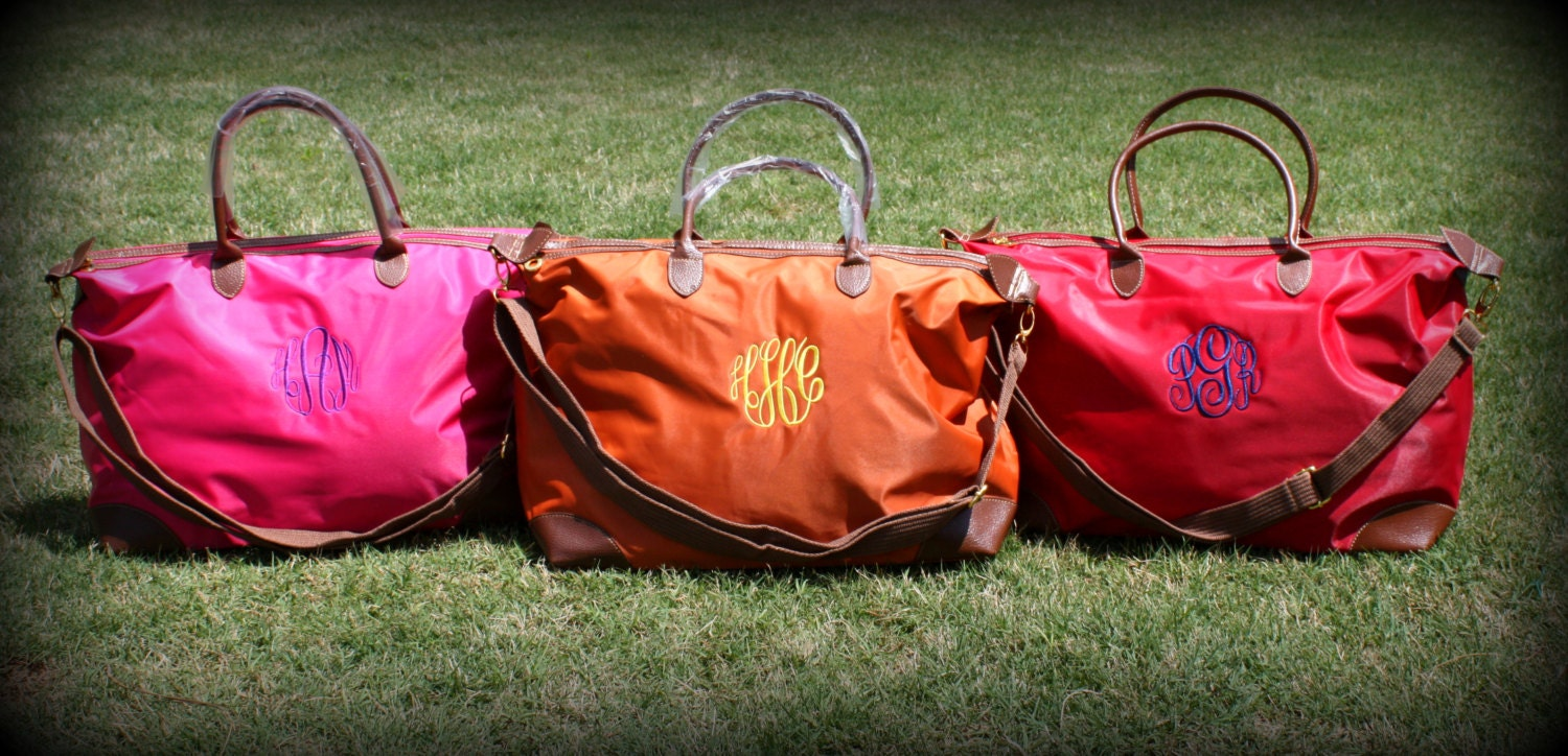 Monogrammed/Personalized Large Champ Weekender Bag