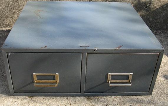 On Sale Industrial Steel File Cabinet 2 Drawer Steelmaster 16
