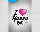 iPhone 4S/4 - I Love Hazza - One Direction - (iPhone Case iPhone 4 Case, iPhone 4 cover, Hard Fitted Case iPhone 4S, Apple iPhone 4 Case)