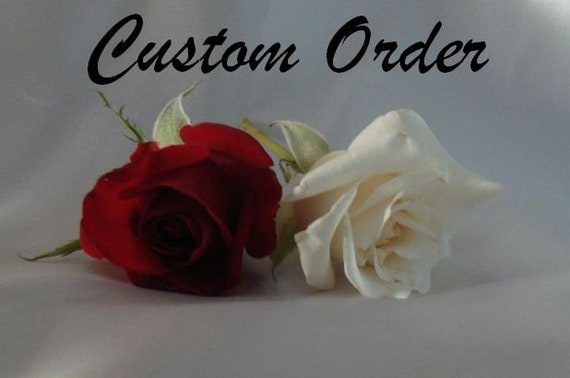 Reserved for ronacowan - CUSTOM ORDER