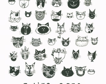 CATS Print 12X12