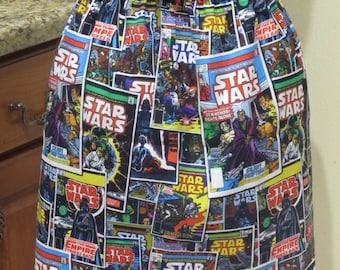 Star Wars Comic Flirty Geeky Skirt - Ready to ship