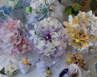 Paper Flower Wedding Package Customized