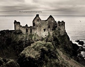 dunluce castle, portrush,ireland