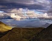 carrauntoohil  the highest mountain in ireland