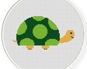 INSTANT DOWNLOAD,Free shipping,Cross stitch pattern, PDF,Turtle,zxxc0373