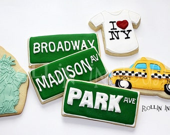 New York City Cookies, New York Cookies, - 1 Dozen