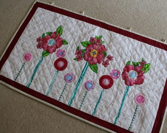 Hand Quilted Wall Hanging
