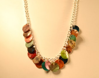 Multicolor Shell Necklace