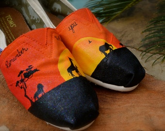 Lion King Custom TOMS Shoes