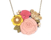 Rose Posy Necklace