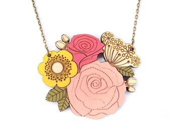 Rose Posy Necklace