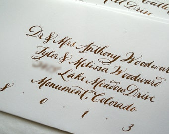 Custom Calligraphy--Williams Font